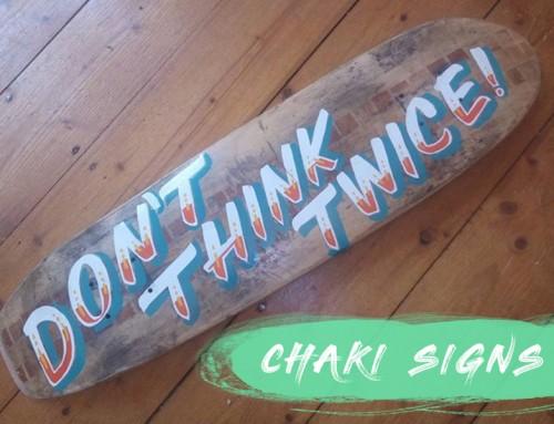 Chaki Signs